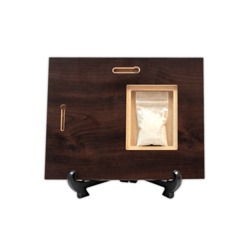 Discreet Cremation Keepsake Storage Compartment