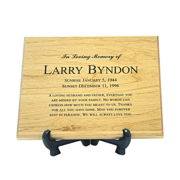 Custom Cremation Memorial Keepsake