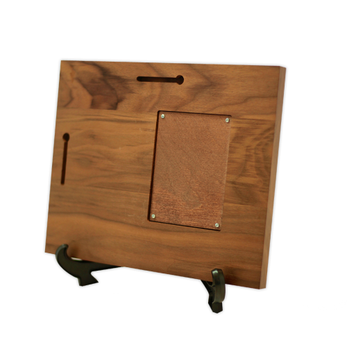 Discreet Cremation Memorial Walnut