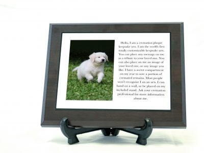 Memorial Urn Plaques for Pets