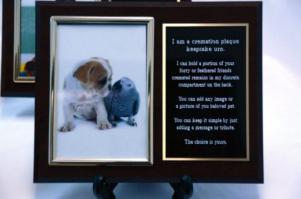 Laser Engraved Pet Keepsake Urn