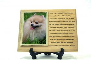 Red Alder Pet Keepsake Urn